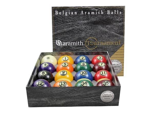 Aramith Tournament Billiard Ball Set with Duramith Technology