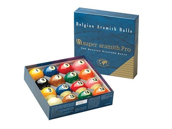ARAMITH PRO TV PRO-CUP BILLIARD BALL SET