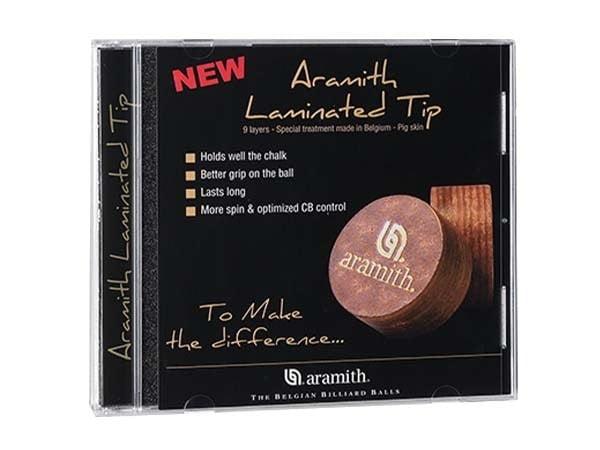 Aramith Laminated Tip | 14mm Medium