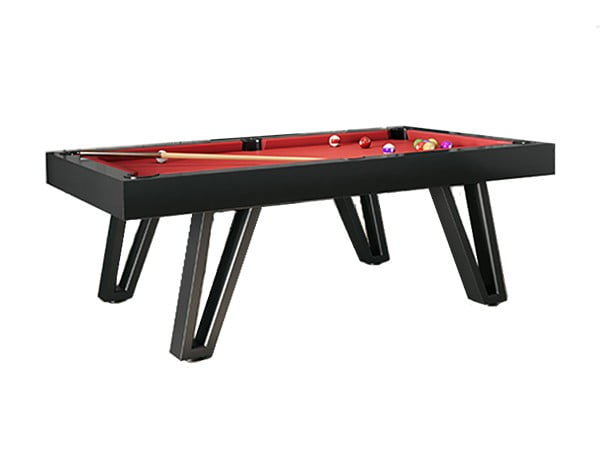 Billiard Breton Ozmoz Black Home Use Pool Table