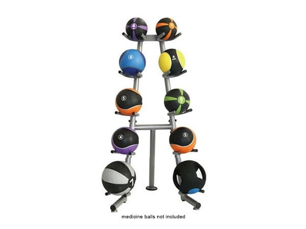 Medicine Ball Rack - Holds 10 Balls (Medicine Balls are not included)