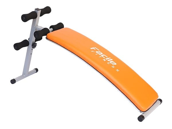 Facile Deluxe Sit-Up Abdominal Orange Bench | 110kg User Weight