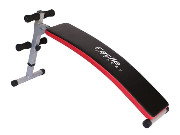 Facile Deluxe Sit-Up Abdominal Black Bench | 110kg User Weight