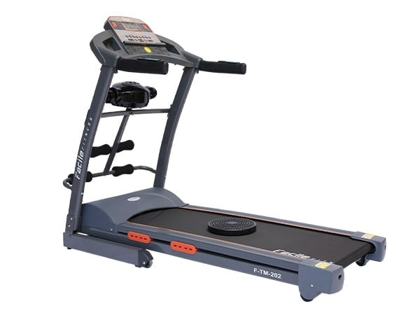 2.75 HP Semi Commercial Grey Motorized Treadmill w/ Massager | 120 KG User Weight