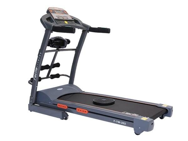 2.75 HP Semi Commercial Grey Motorized Treadmill w/ Massager | 120 KG User Weight