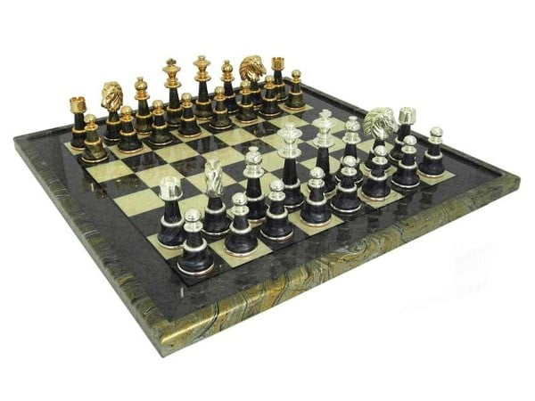 Italfama High Quality Briar Erable Chess Board | Made in Italy (Florence)