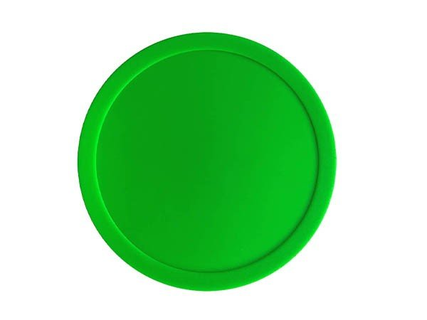 Knight Shot Air Hockey Green Puck | 82mm | Per Piece
