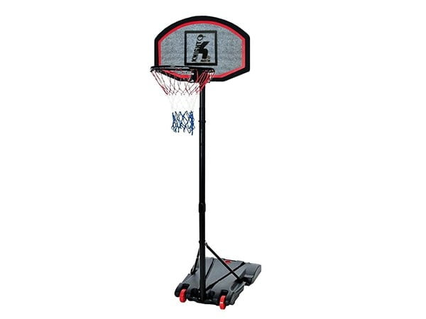 Outdoor Movable Basketball Post w/ Adjustable Height: 1.65 - 2.05 M | Knight Shot 101 Model