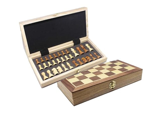 Wooden Chessboard Set