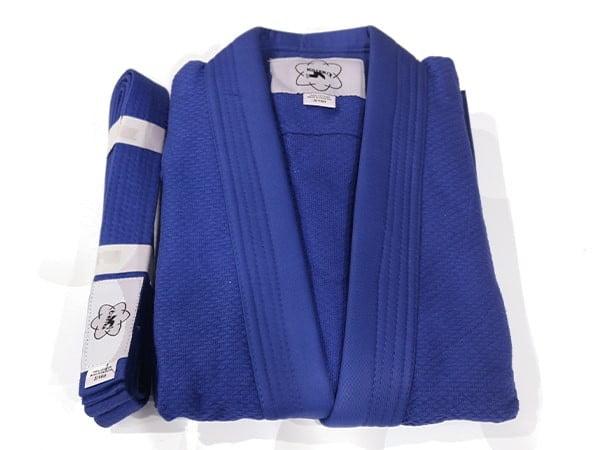 Blue Judo Suit