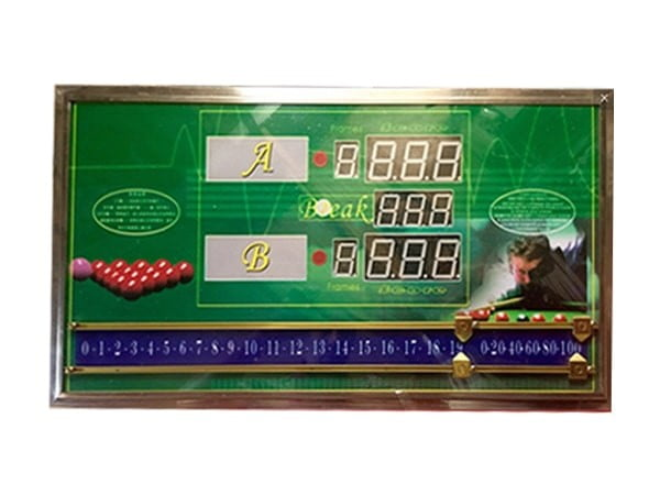 Knight Shot Snooker Electronic Score Board w/ Manual And Remote Control