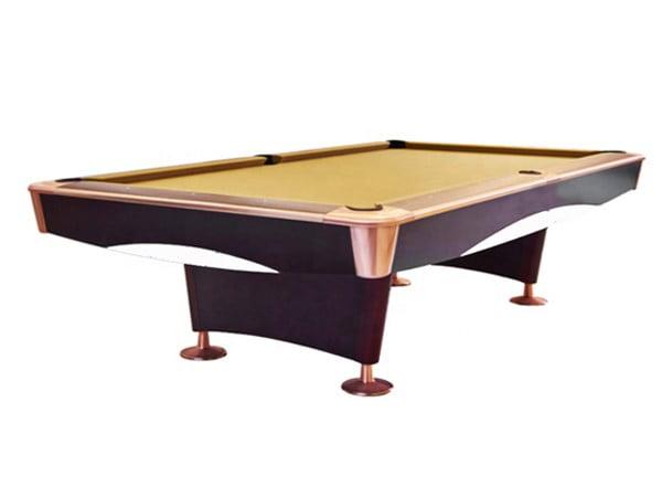 Knight Shot Spyder Brown Ball Return Pool Table