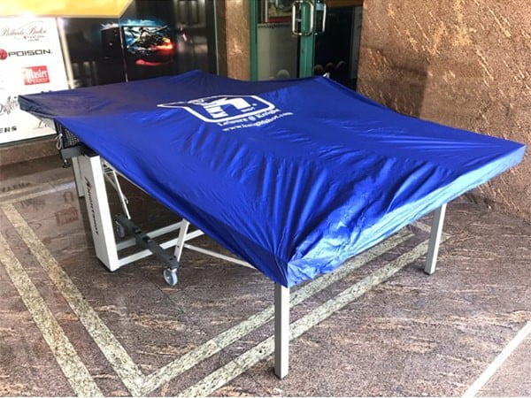 Table Tennis Cover - Blue