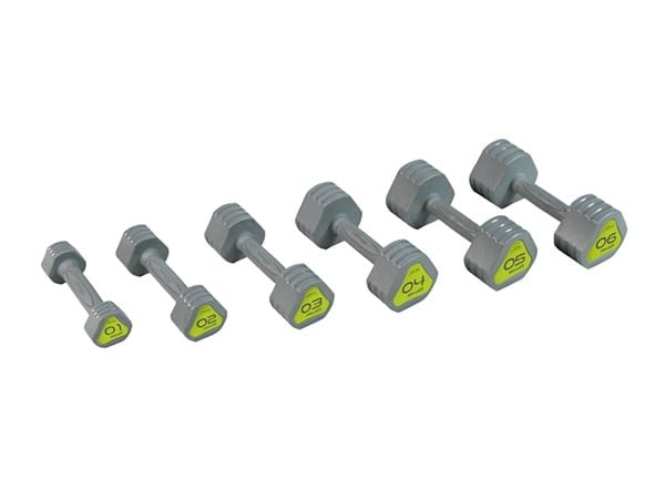 tpu dumbell set