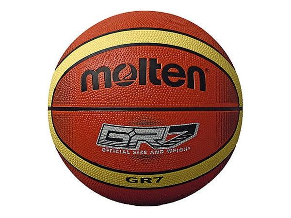 Molten Basketball Size 7 | Rubber | Brown & Light Brown