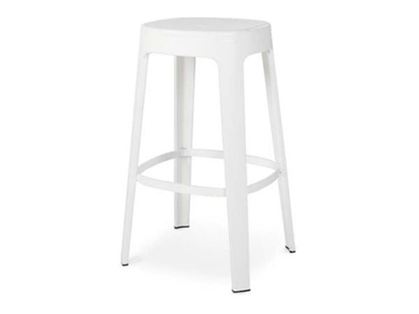 RS Barcelona Ombra Stool Counter | White