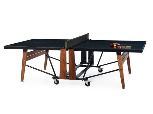 RS Barcelona Foldable Ping Pong Table | Knight Shot
