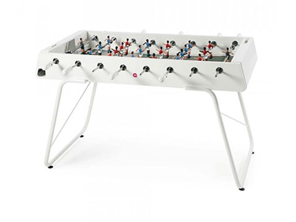 Indoor and Outdoor Foosball Table   RS Barcelona RS3P White