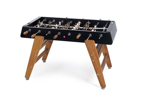 Indoor and Outdoor Foosball Table   RS Barcelona RS#3 Wood Black
