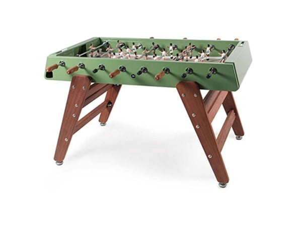 Indoor and Outdoor Foosball Table | RS Barcelona RS#3 Wood Green