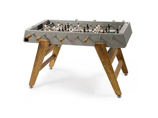 Indoor and Outdoor Foosball Table | RS Barcelona RS#3 Wood Inox