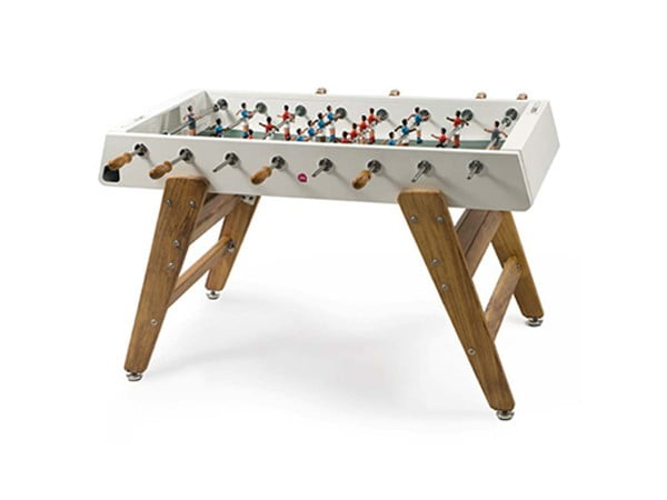 Indoor and Outdoor Foosball Table | RS Barcelona RS#3 Wood White