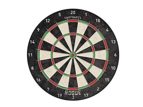 Shot Darts Rogue Bristle Dartboard