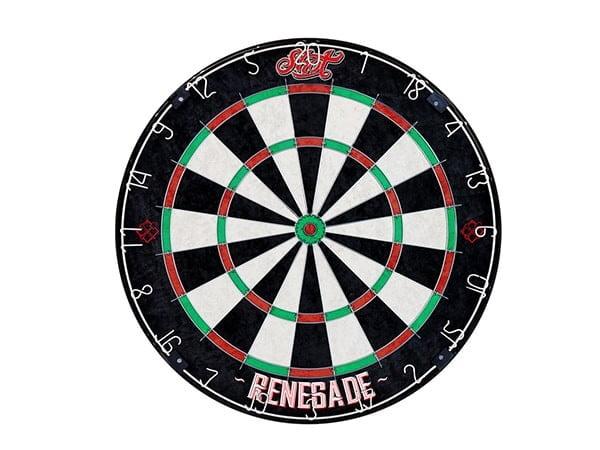 Shot Darts Renegade Bristle Dartboard