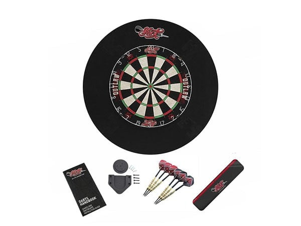 Shot Darts Outlaw Tournament Dartboard Set (Board