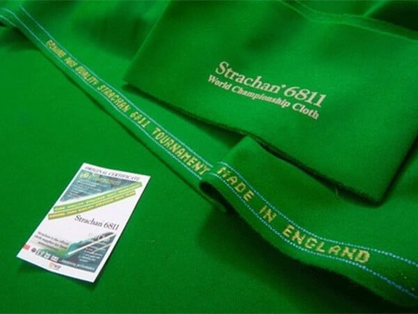 Strachan UK 6811 Tournament Snooker Cloth | Per Set