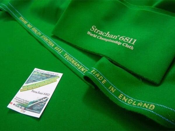 Strachan UK 6811-Club Tournament Snooker Cloth | Per Set