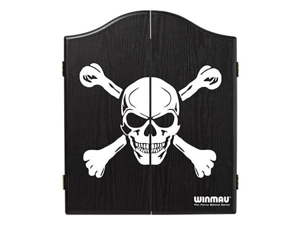 Winmau Skull & Crossbones Black Cabinet