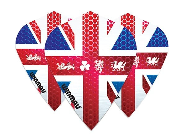 Winmau Kite Poly Union Jack Dart Flight