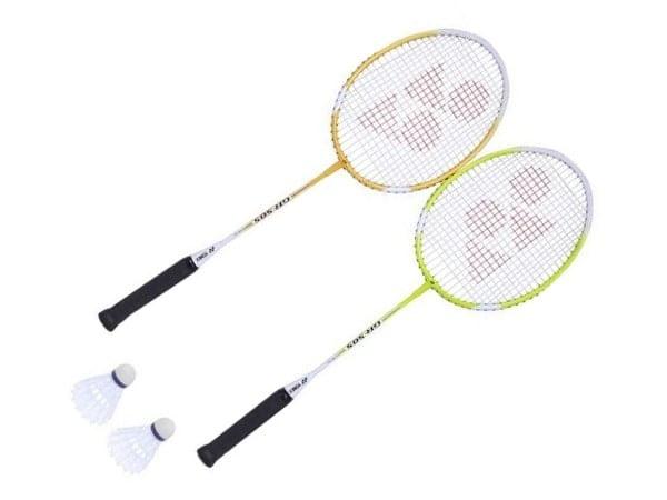 Yonex GR-505 Badminton Racket Set | 2 Rackets 2 Shuttlecock