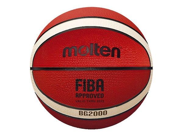 Molten Rubber Cover Basket Ball Size 7 Brown/Cream/12/BGR-OI