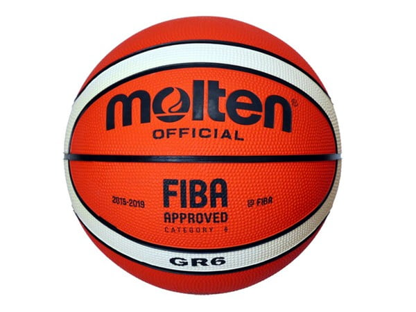 Molten Rubber Cover Basketball Orange Ivory Size#6